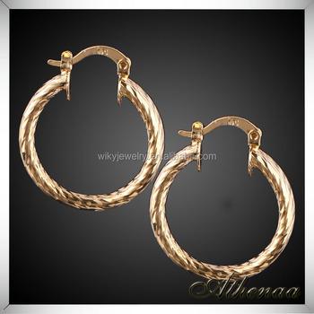 Dubai Gold Jewelry Factory Price Copper Hot Sale In Yiwu Earring