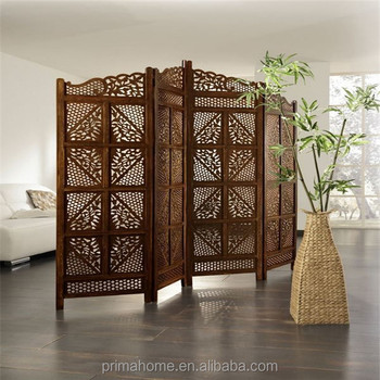 Wood Screen Room Divider Dubai Design