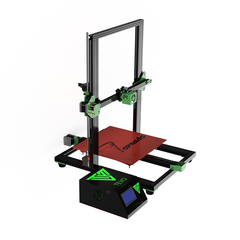 2017 TEVO Tornado 3D Printer Fully Assembled 3D Printer Full Aluminum Frame Large Printing with Titan extruder Impresora 3D