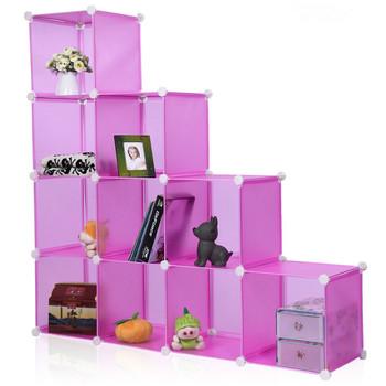 modular plastic multipurpose cube cabinet diy display shelf buy rh alibaba com buy plastic cube storage shelves Walmart Cube Shelves
