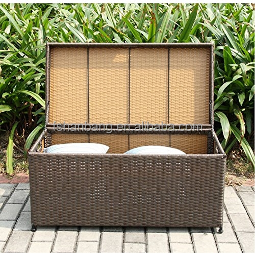wasserdicht terrasse garten korbwaren rattan kissen kissen spielzeug deck stauraum pack box set. Black Bedroom Furniture Sets. Home Design Ideas