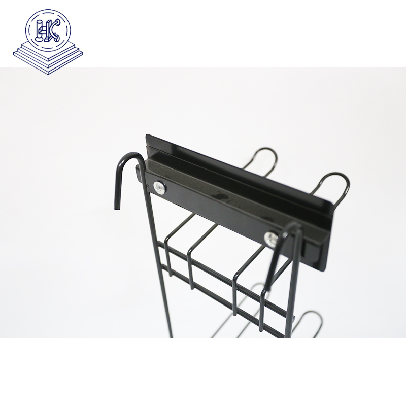 counter top metal wire small  hanging rack