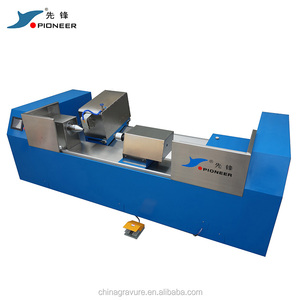 gravure cylinder polishing machine for chrome