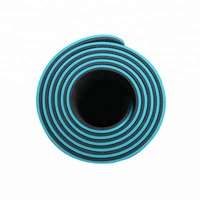 Tpe yoga mats double-color yuga mat