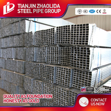 80x80 galvanized/black square and hollow rectangular steel iron pipe paper tube price