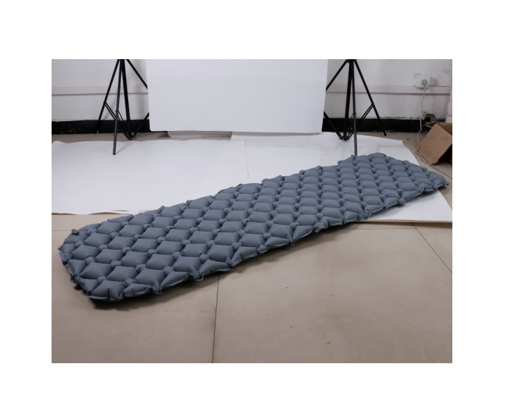 Inflatable Camping Mat สำหรับ Backpacking Sleeping Pad Inflatable สบาย Pad สำหรับ 1 คน