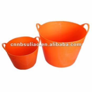 Plastic Flexible And Portable Garden Tub Water Tubs