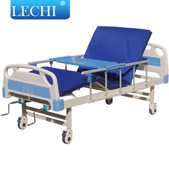 Hospital Furniture Manual Adjustable Bed Frame Used Paralyzed ...