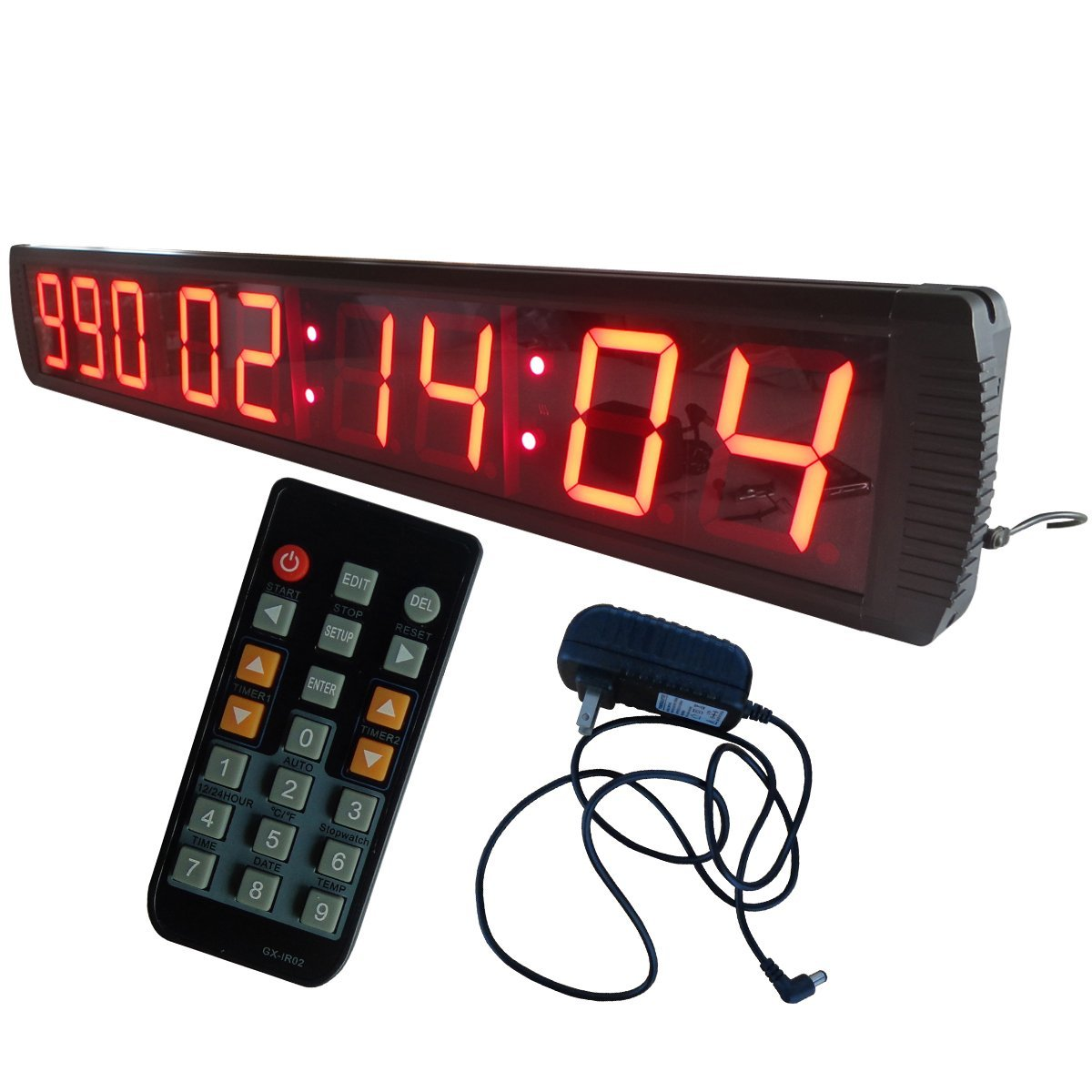 9 Minutes 59 Seconds Large LED Digital CountdownTimer in MINTS SECS max