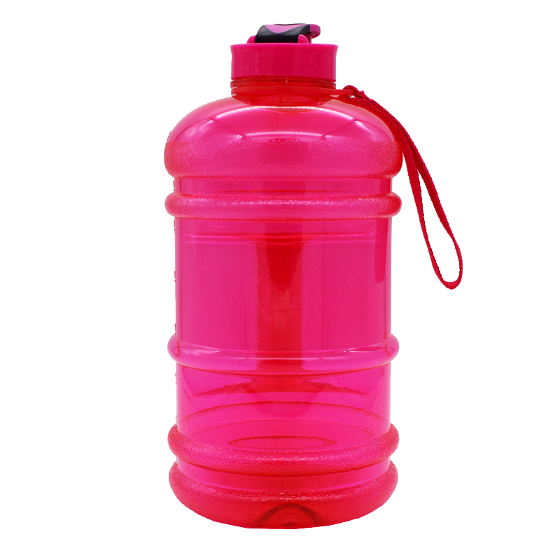 Hot 2.2L PETG water bottle for GYM with flip flop lid,FACTORY DIRECT SUPPLY hot 2.2L water bottle,OEM logo water bottle bpa free