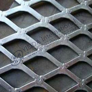 Flattened Expanded Metal Mesh Factory Export