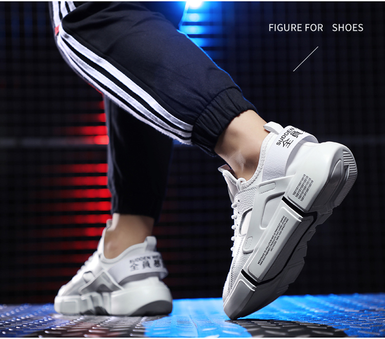 2018 Factory Price Breathable Durable Sport Shoes Mans Sneakers
