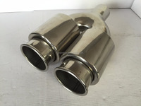 universal car stainless steel pipe exhaust system