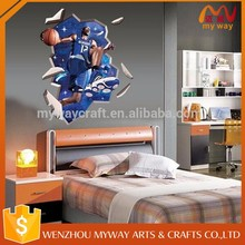 Child Dwight Howard Basketball 3D Sports Bedroom Wall Sticker Decoration