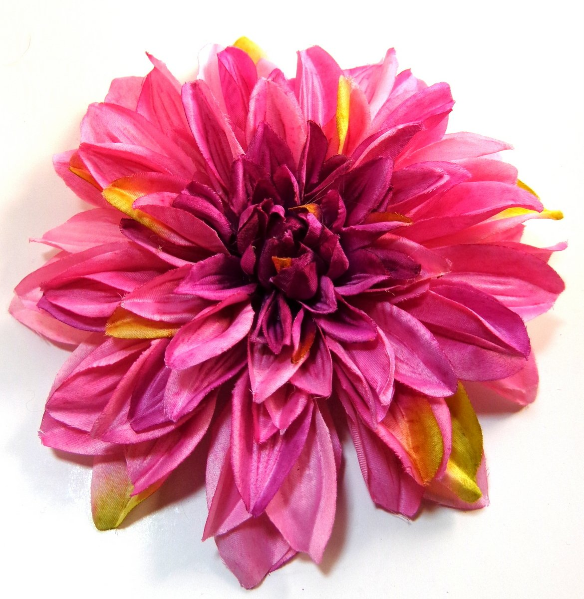 Buy Extra Large 7 Inch Pink Dahlia Hair Flower In Cheap Price On