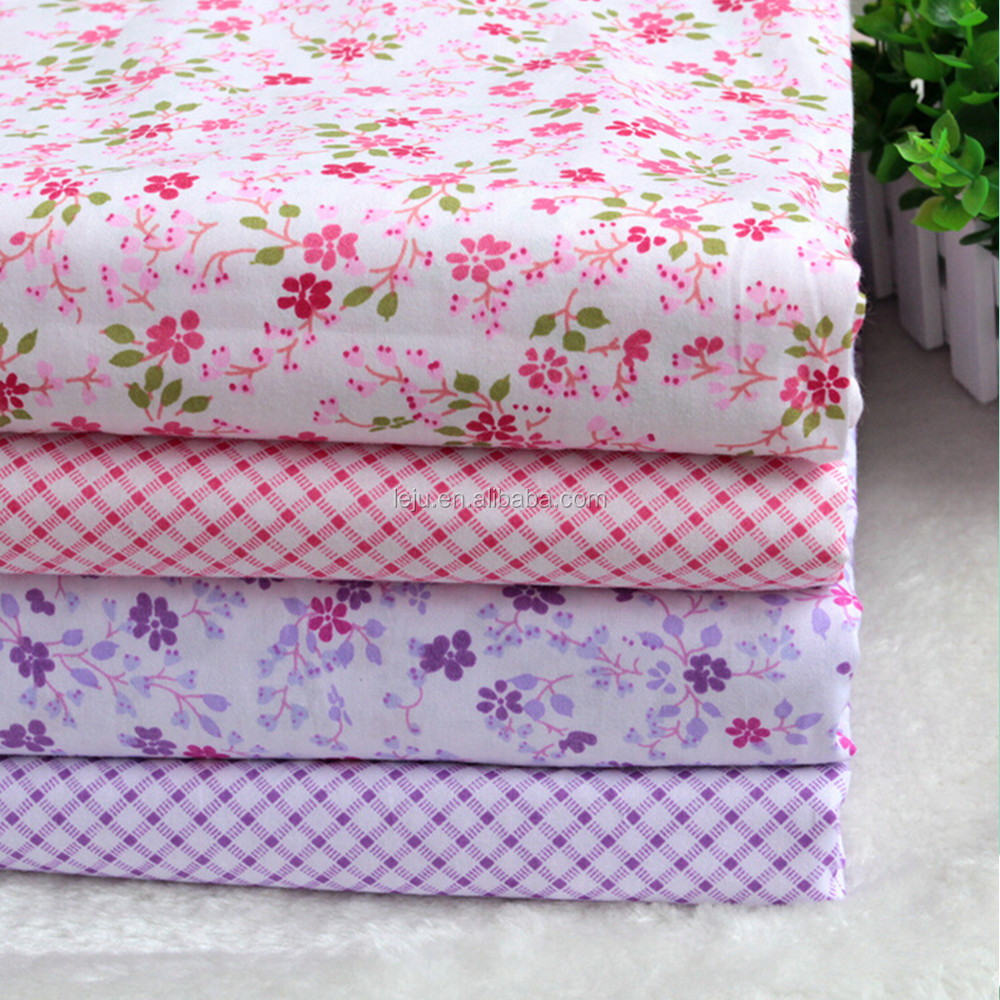 100% cotton beautiful printing fabric for curtain and bedding sets