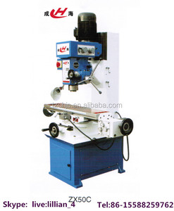 Cheap price multipurpose mini milling drilling machine ZX50C