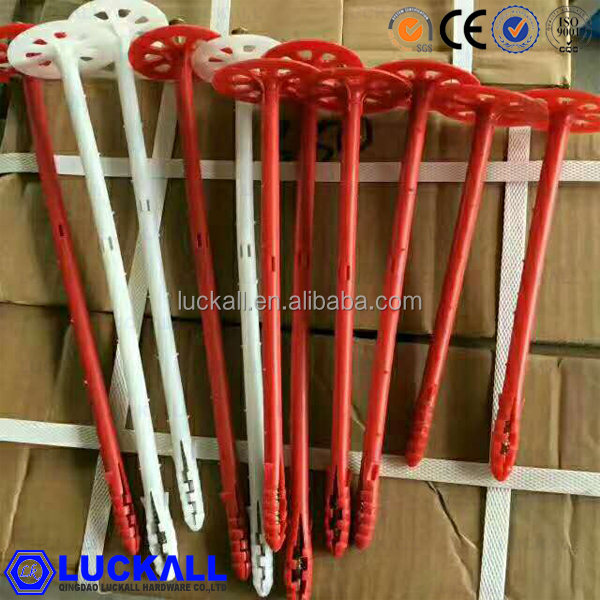 Plastic Fixation Insulation Nail For Consturction Insulation