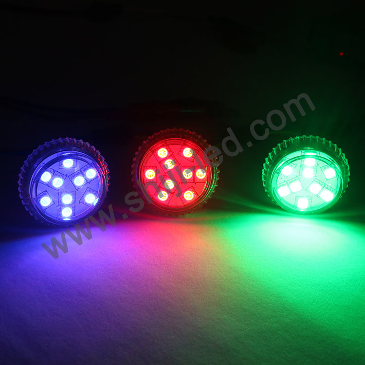 UCS1903 rgb lights 35mm Led Point Pixel Light for amusement rides