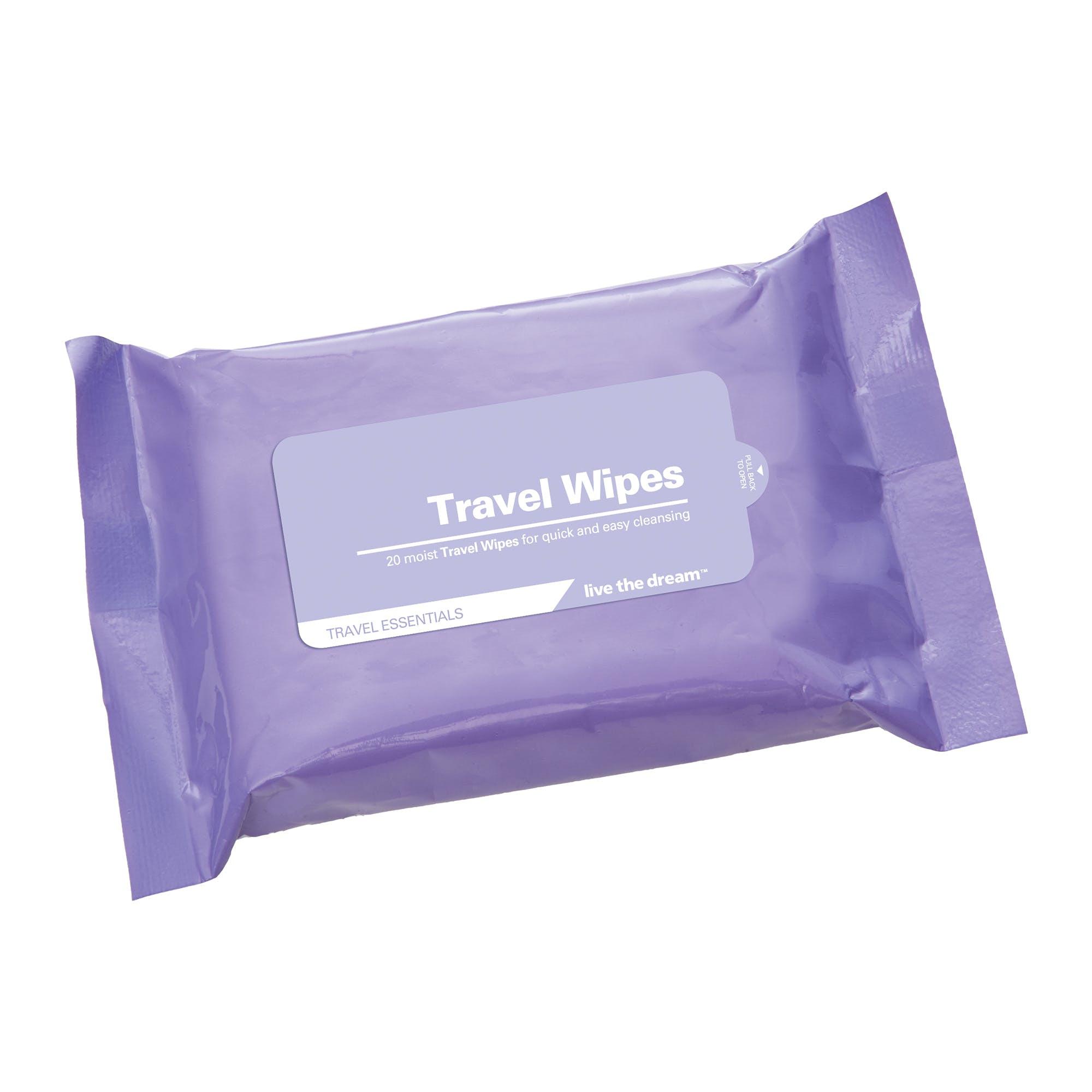 Disposable Convenient Multi Function 10 PCS Traveling Wet Wipes.