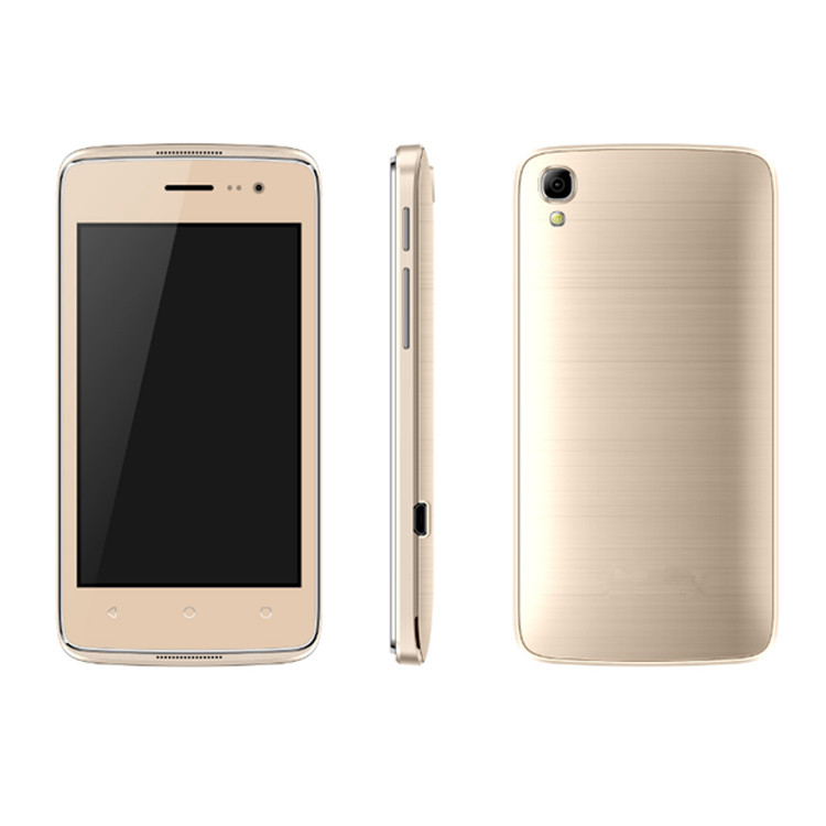 "Wholesale 2G Mobile Phones RAM 256MB ROM 512MB 4.0"" IPS Screen Bluetooth Smart Mobile Phones"