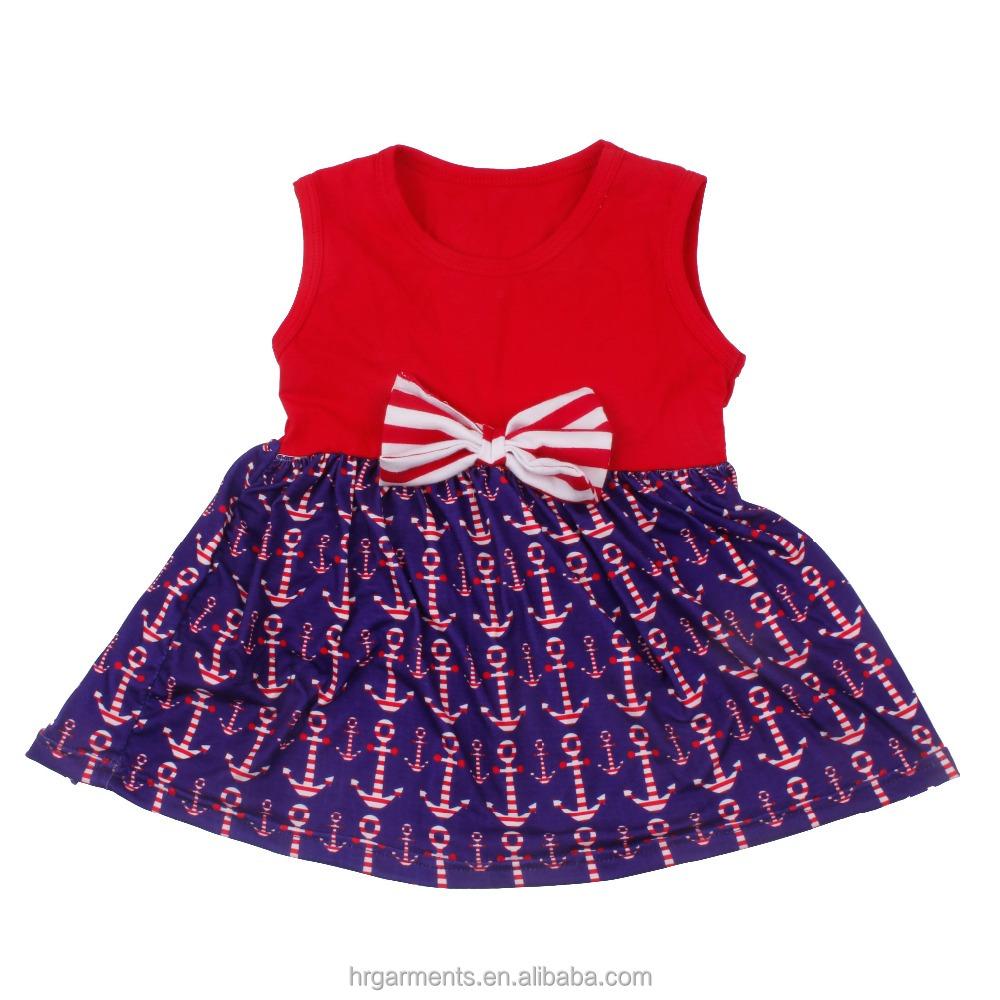 Comercio al por mayor boutique niños ropa de verano niños vestido ...