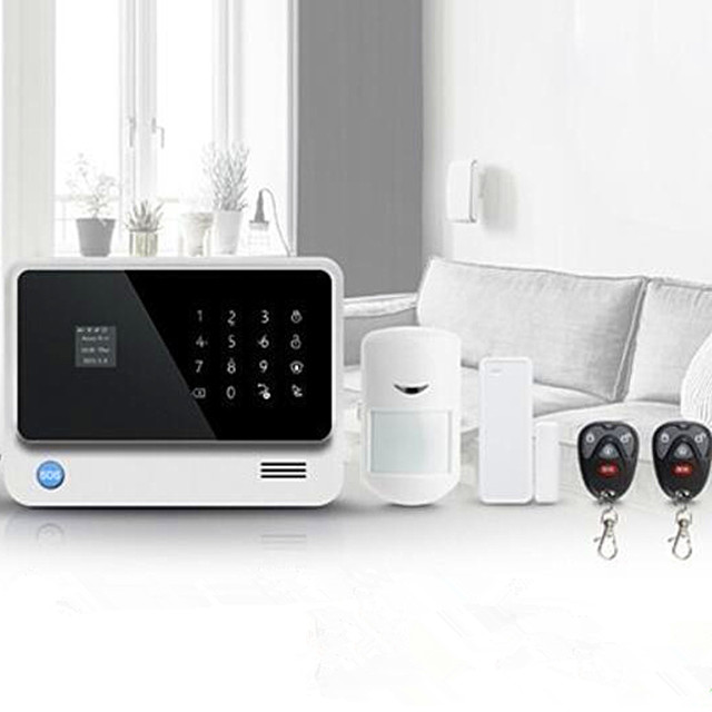 2019 Best selling WIFI/<strong>GSM</strong>/GPRS wireless home security safe smart alarm alarm