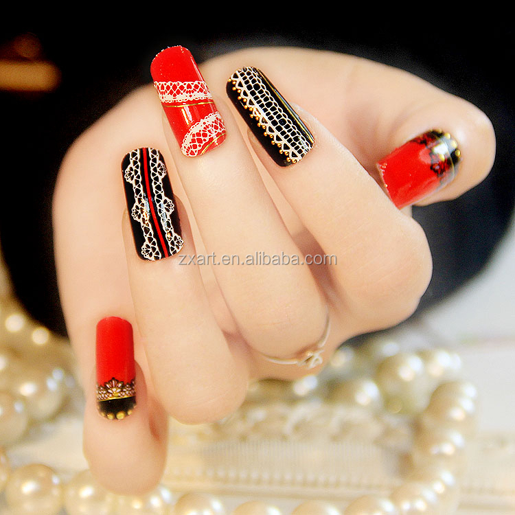 Multiple Color Hot Sale Nail Art Sticker Supplies View Nail Sticker