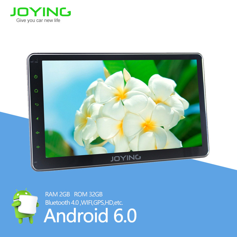 joying car stereo 10.1 inch car bluetooth gps navigation 2din car dvd audio video player for universal