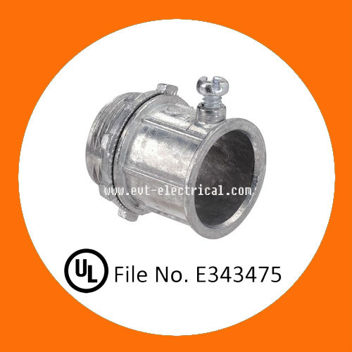 Electrical Zinc EMT pipe Connector/conduit fitting