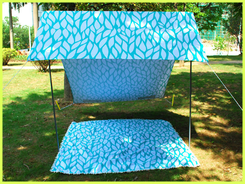 Portable Fashion Pop Up Beach Tent Tourism Outdoor Sun Shade Sand Tent : folding pop up beach tent - memphite.com