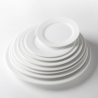 Ceramic Catering Dinner Plates, Hotel Used Cheap Dinner Plates, Restaurant Porcelain Tableware^