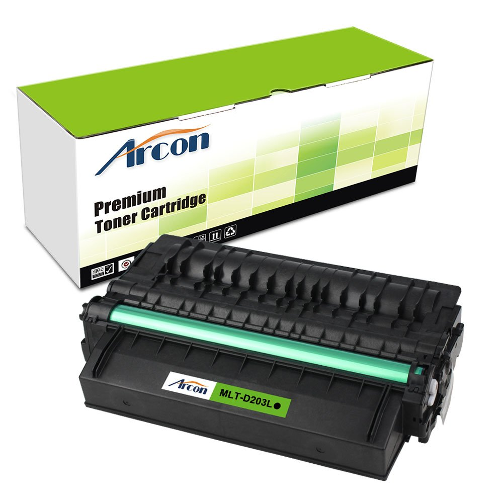 Arcon Replacement MLT-D203L MLT D203L 203S Toner Cartridge For Samsung SL-M3370FW SL-M3320ND SL- M3870FW SL M3370FW M3320ND M3870FW Multifunction Proxpress Laser Printer Toner Cartridge(1Pack)