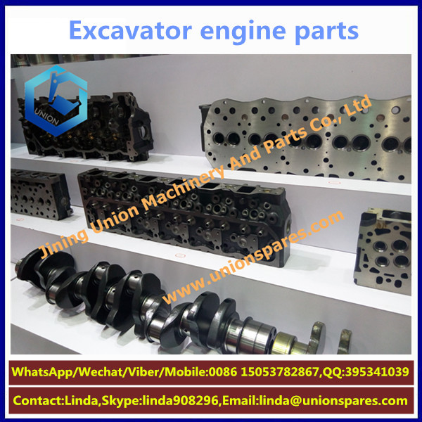 Oem C9 Diesel Engine Spare Parts Cylinder Block Head