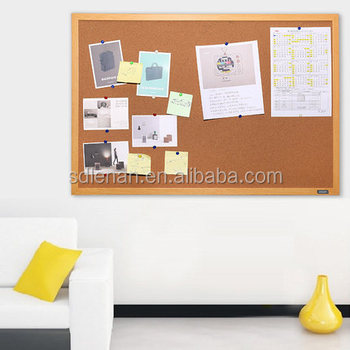 Wholesale Custom Printed Sizes Of Pin Wooden Frame Cork Surface Wall ...