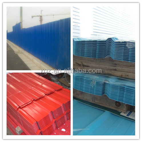 corrugated plate series/covering/ sandwich panel/ series/ /color steel coil 820-1025mm