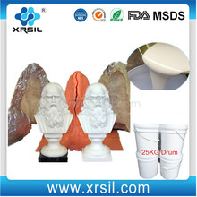 soft silicone rubber liquid raw material two component silicon