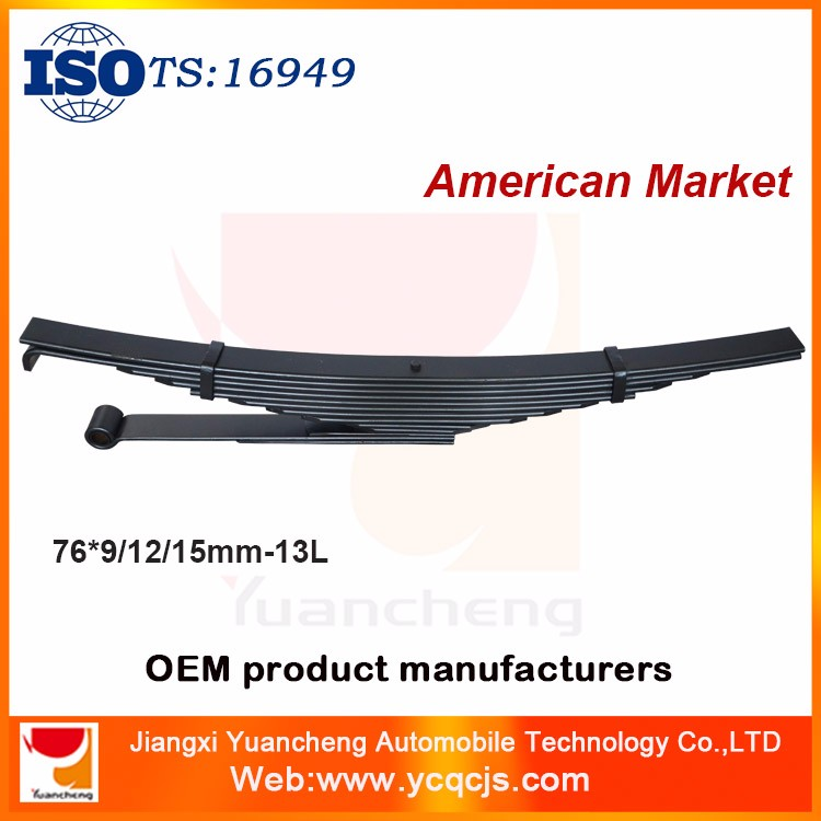 Hot sale European Car Parts Front Leaf Spring