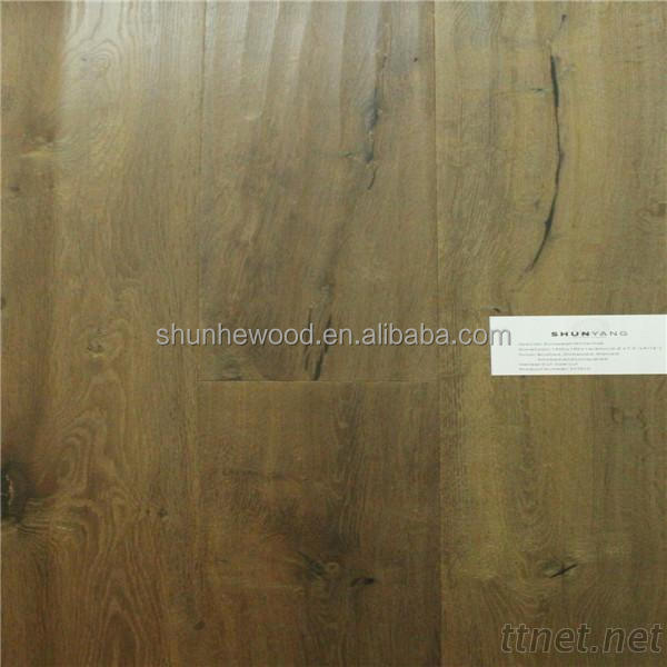 Oak Lamella With Hardwood Floor Structure Engineered Wood Flooring Unilin click hard wood flooring/parquet
