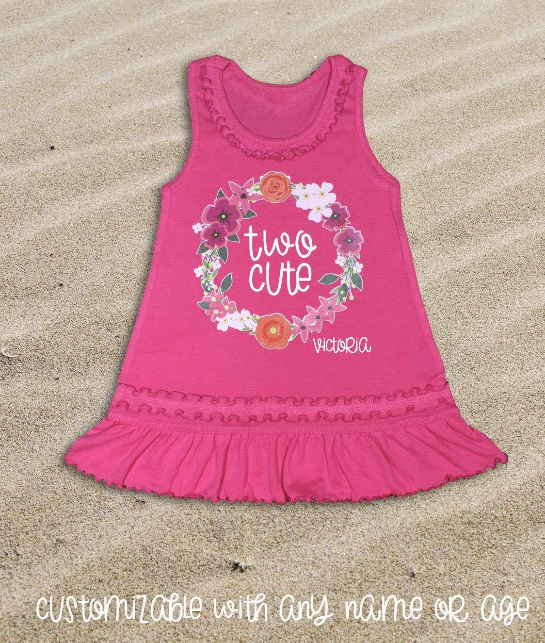 078148cb4 2nd Birthday Outfit Second Birthday Dress Girl's 2nd Birthday Dress Two  Cute Dress I'm