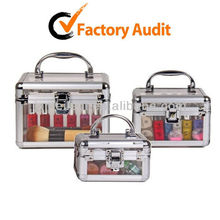 Shany Makeup Case Train Box Beauty Kit Vanity Nail Acrylic Jewelry Case MLD-AC626