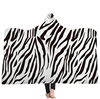ONEENO New Arrival Kid size Animal Pattern Warm Wearable Leopard Hooded Blanket for winter