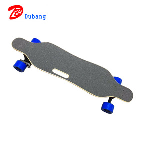 Canadian Maple 4 Wheel Street Long Board Skateboard with Remote Control