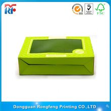 2012 fancy corrugated doll packaging box
