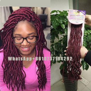 Pre Loop Fauxlocs Crochet Braids Hairgoddess Fauxlocs Soft Locs