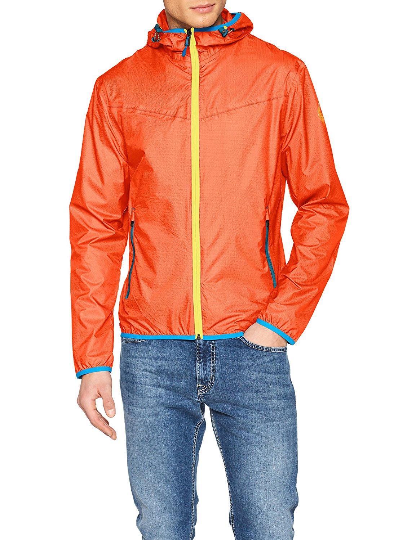 Napapijri Mens Rainforest M Sum 1 Jacket Orange Herrenmode