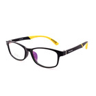 Factory Directly Black and Yellow Kids Optical Glasses