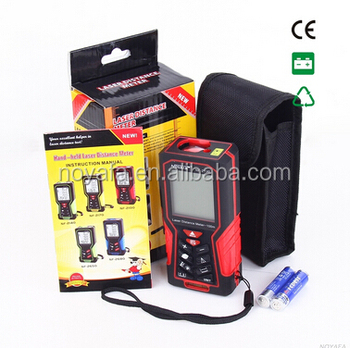 High quality Digital handheld laser distance meter with length & Area & Volume functions (NF-2100)
