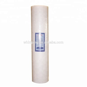 20 inch big blue polypropylene cotton pp / pleated filter cartridge