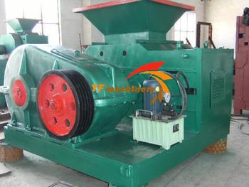 homemade fuel briquette press machine,charcoal briquette machine for Africa